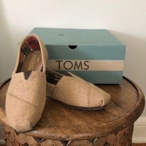 Toms Straw Loafers